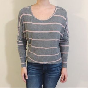 Brandy Melville striped long sleeve top